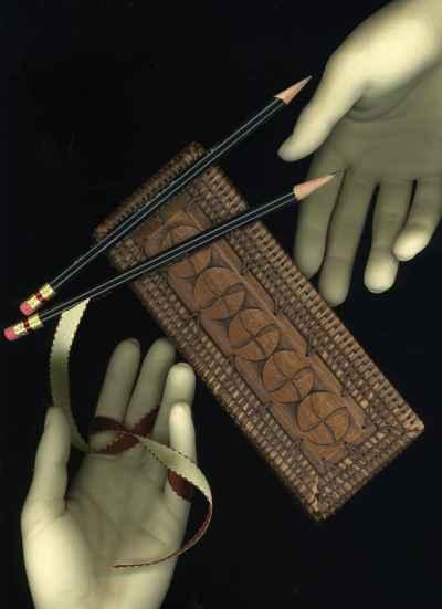 hands-and-pencils