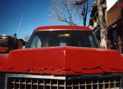 red-car-grill